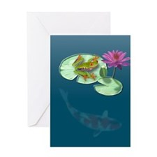 Watergarden Greeting Card