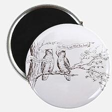Twin Peaks Owls Magnet
