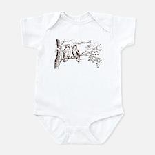 Twin Peaks Owls Infant Bodysuit