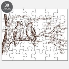 Twin Peaks Owls Puzzle