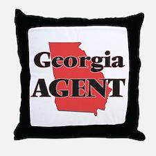 Georgia Agent Throw Pillow