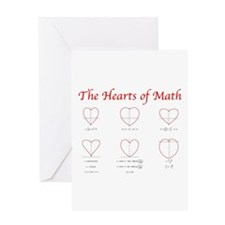 Unique Heart Greeting Card