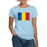 Romanian Flag Women's Light T-Shirt