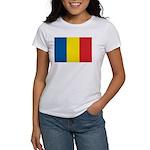 Romanian Flag Women's T-Shirt