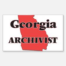 Georgia Archivist Decal