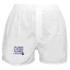 Best Plumber In The World (Daddy) Boxer Shorts