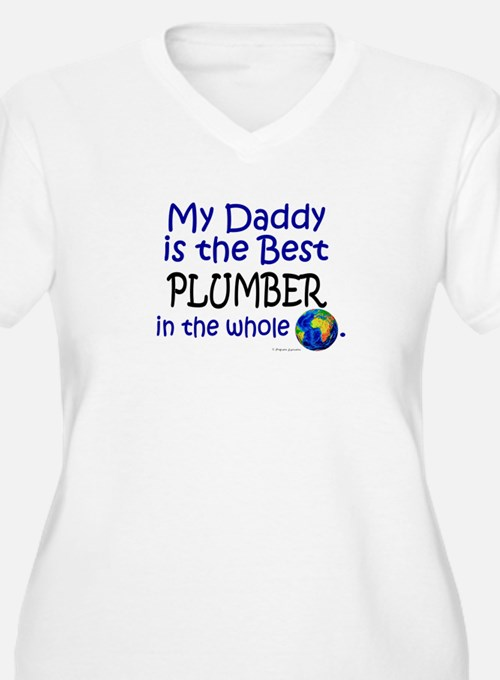 Best Plumber In The World (Daddy) T-Shirt