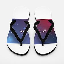 America's Got Something Color Logo Flip Flops