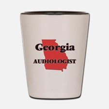 Georgia Audiologist Shot Glass