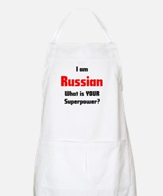 i am russian Apron