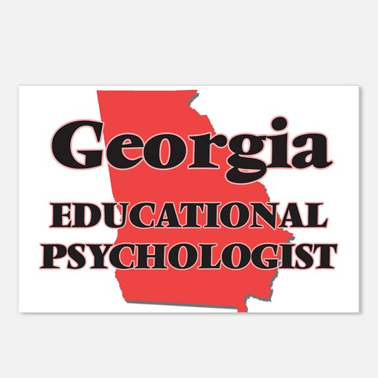 Georgia Educational Psych Postcards (Package of 8)