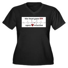 Open heart warrior Plus Size T-Shirt