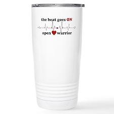 Open heart warrior Travel Coffee Mug