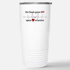 Open heart warrior Travel Mug