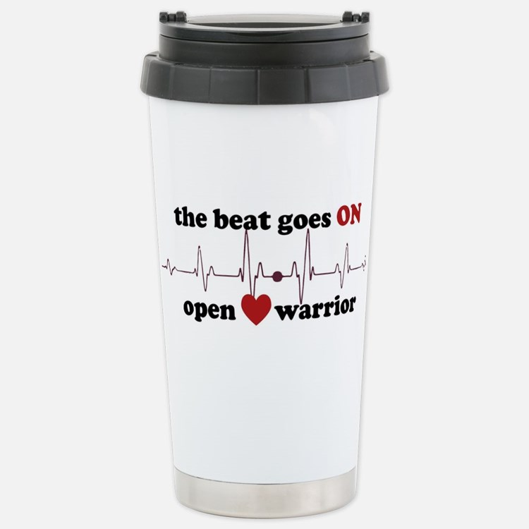 Open heart warrior Travel Mug