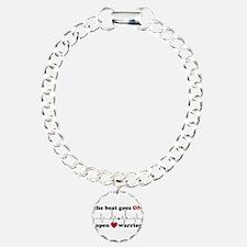 Open heart warrior Bracelet