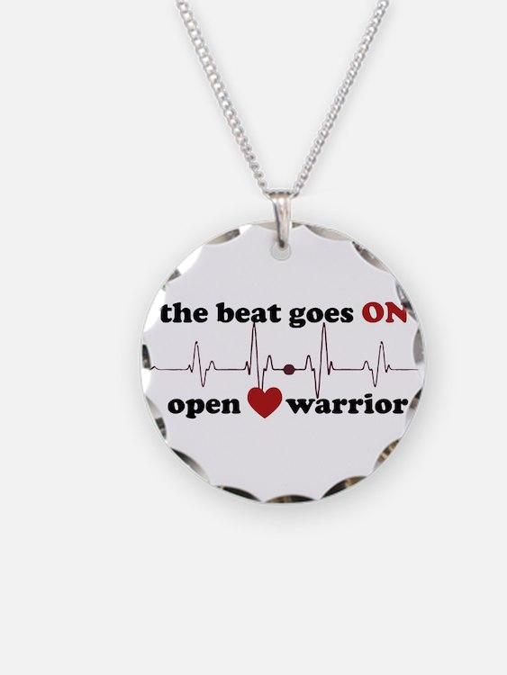 Open heart warrior Necklace