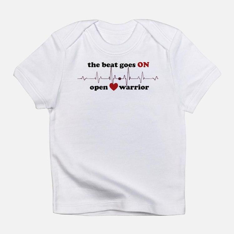 Open heart warrior Infant T-Shirt