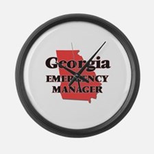 Georgia Emergency Manager Large Wall Clock