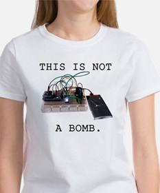 This is not a bomb. Tee