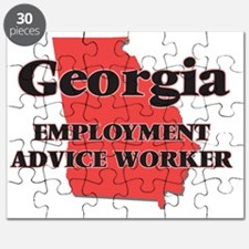 Georgia Employment Advice Worker Puzzle