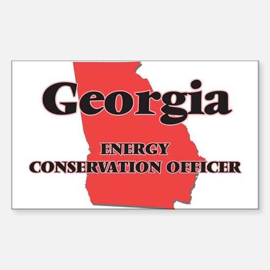 Georgia Energy Conservation Officer Decal