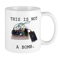 This is not a bomb. Mugs