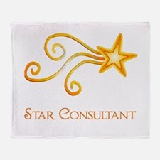 Star Consultant Throw Blanket