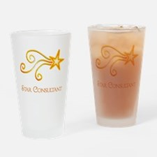 Star Consultant Drinking Glass