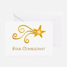 Star Consultant Greeting Card