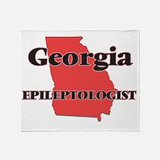 Georgia Epileptologist Throw Blanket