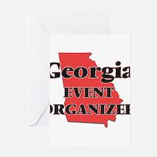 Georgia Event Organizer Greeting Cards