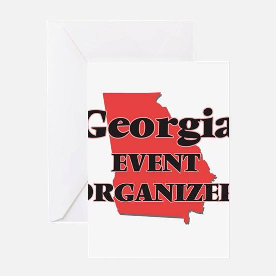 Georgia Event Organizer Greeting Cards