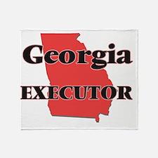 Georgia Executor Throw Blanket