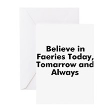 Believe in Faeries Today, Tom Greeting Cards (Pk o