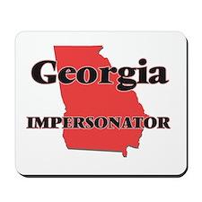Georgia Impersonator Mousepad
