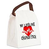Chapman stick Canvas Lunch Bag