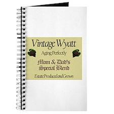 Vintage Wyatt Journal