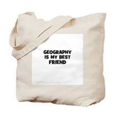 Geography Is My Best Friend Tote Bag