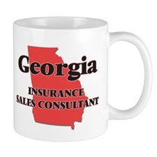 Georgia Insurance Sales Consultant Mugs