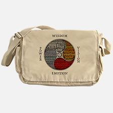 Unique Medicine wheel Messenger Bag