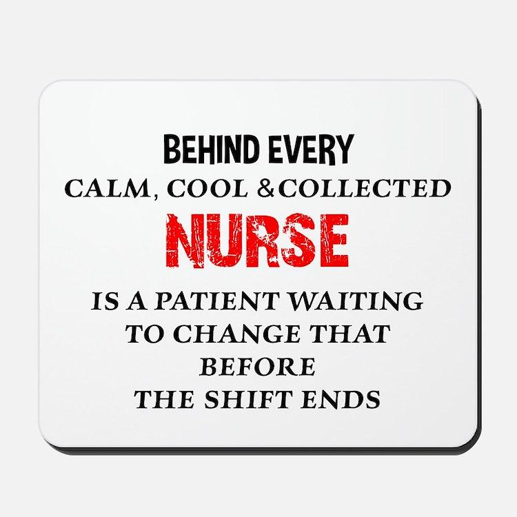 Nurse Humor Mousepad