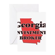 Georgia Investment Broker Greeting Cards