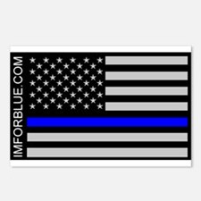 IMFORBLUE Postcards (Package of 8)
