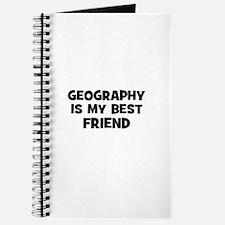 Geography Is My Best Friend Journal