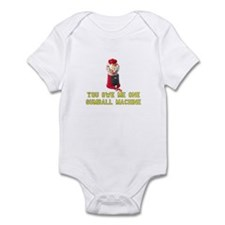 You Owe Me One Gumball Machin Infant Bodysuit