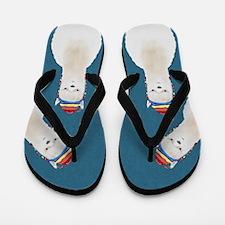 Alpaca Flip Flops
