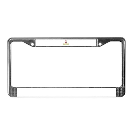 You Owe Me One Gumball Machin License Plate Frame