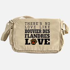 Bouvier des Flandres Love Messenger Bag