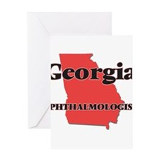 Georgia Ophthalmologist Greeting Cards